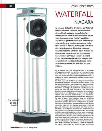 press niagara Niagara Essai Enceintes